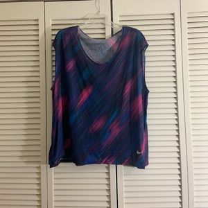 NWOT 1X NIKE DRI-FIT loose tank top